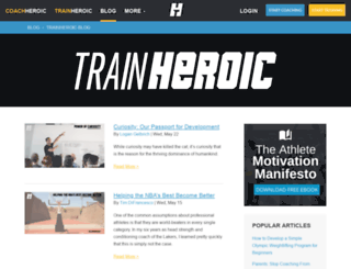 blog.trainheroic.com screenshot