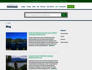 blog.travel-british-columbia.com screenshot