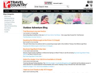 blog.travelcountry.com screenshot
