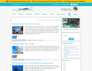 blog.tropiclink.net screenshot