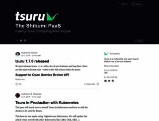 blog.tsuru.io screenshot