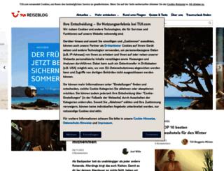 blog.tui.com screenshot