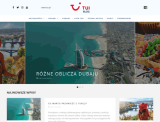 blog.tui.pl screenshot