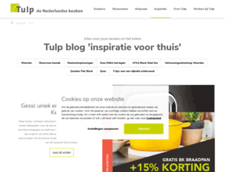 blog.tulpkeukens.nl screenshot