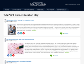blog.tutapoint.com screenshot