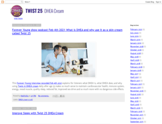 blog.twist25.com screenshot