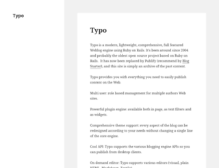 blog.typosphere.org screenshot