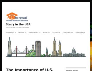 blog.ubergrad.com screenshot