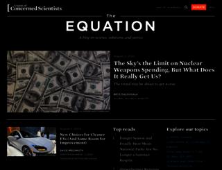 blog.ucsusa.org screenshot