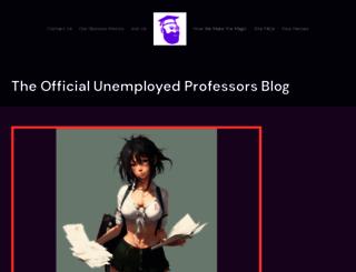 blog.unemployedprofessors.com screenshot