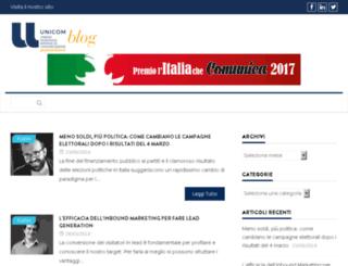 blog.unicomitalia.org screenshot