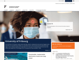 blog.unifr.ch screenshot