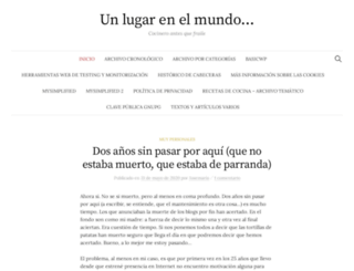 blog.unlugarenelmundo.es screenshot