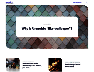 blog.unmetric.com screenshot