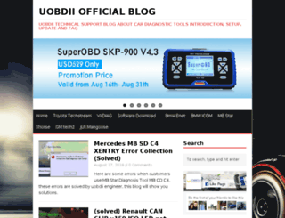 blog.uobd2.net screenshot