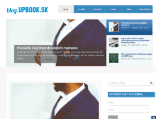 blog.upbook.sk screenshot