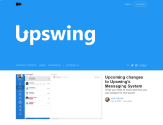 blog.upswing.io screenshot
