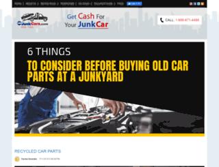 blog.usjunkcars.com screenshot