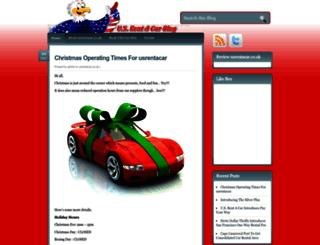 blog.usrentacar.co.uk screenshot