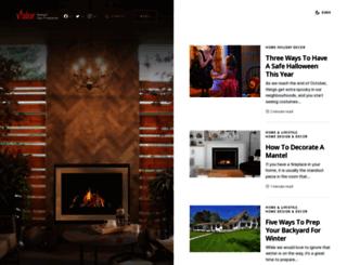 blog.valorfireplaces.com screenshot