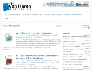 blog.vanharen.net screenshot