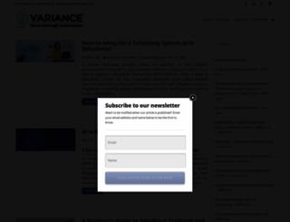 blog.varianceinfotech.com screenshot