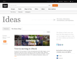 blog.veer.com screenshot