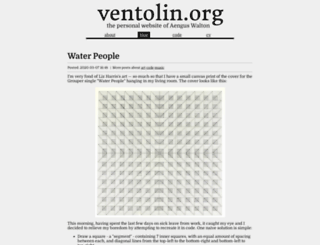 blog.ventolin.org screenshot