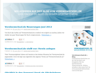 blog.vereinswechsel.de screenshot