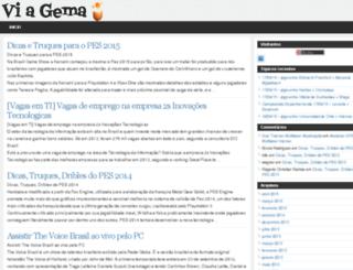 blog.viagema.com screenshot