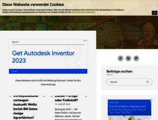 blog.viciente.at screenshot