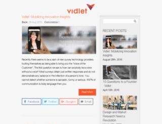 blog.vidcaster.com screenshot