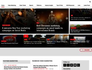 blog.vidooly.com screenshot