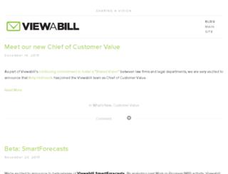 blog.viewabill.com screenshot