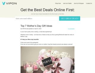 blog.vipon.com screenshot