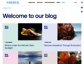 blog.visitgreece.gr screenshot