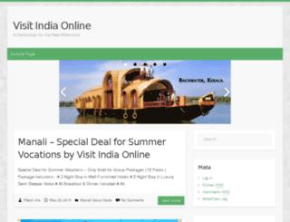 blog.visitindiaonline.co.in screenshot
