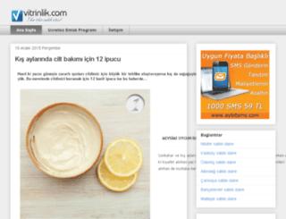 blog.vitrinlik.com screenshot
