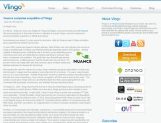 blog.vlingo.com screenshot