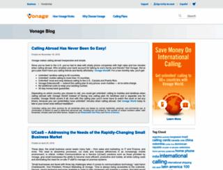 blog.vonage.com screenshot