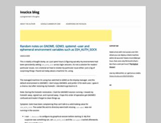 blog.vucica.net screenshot