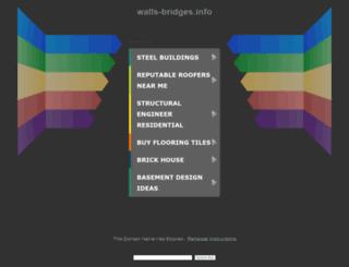 blog.walls-bridges.info screenshot
