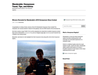 blog.wanderable.com screenshot