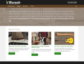 blog.warmoth.com screenshot