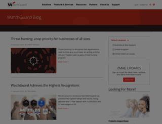 blog.watchguard.com screenshot