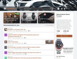 blog.watchuseek.com screenshot