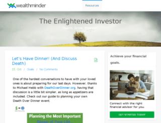 blog.wealthminder.com screenshot