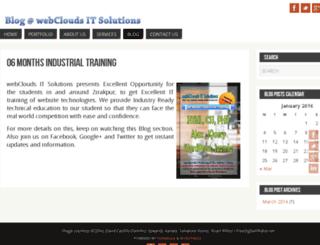 blog.webclouds.net screenshot