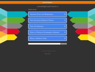 blog.webdesignoptimizare.ro screenshot