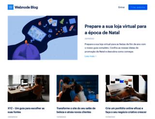 blog.webnode.com.br screenshot